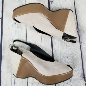 Shoes - THIERRY RABOTIN  | peep toe platform wedge